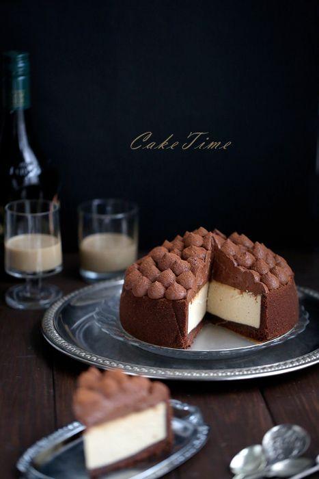Sernik Baileys z musem czekoladowym- najlepszy