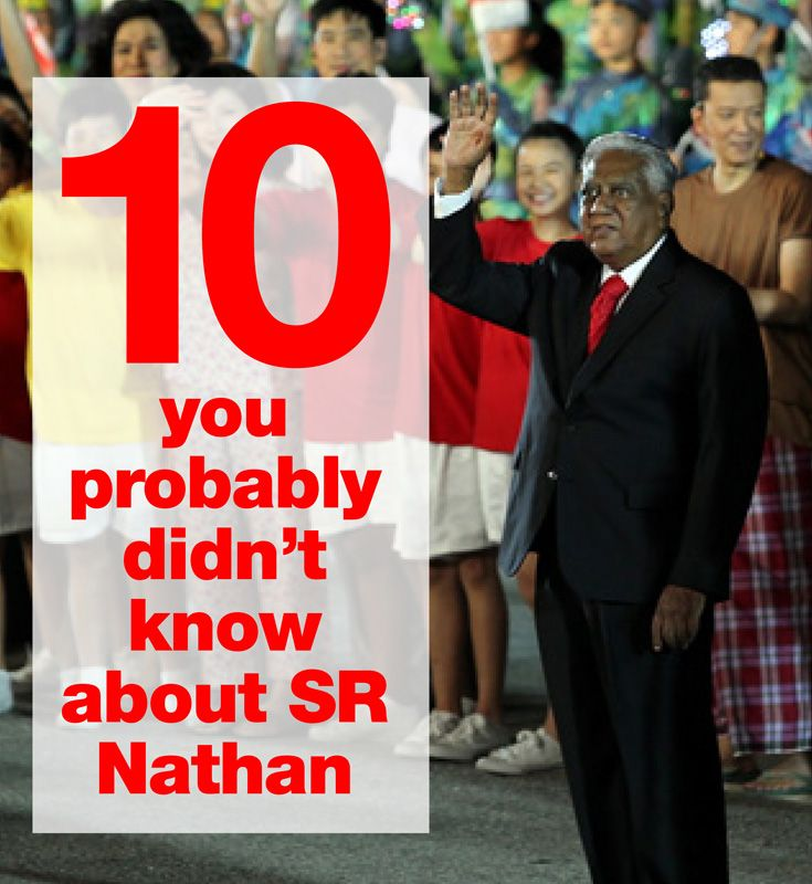 To Some S R Nathan Was The Perfect Example Of How Hard Work Begets Success