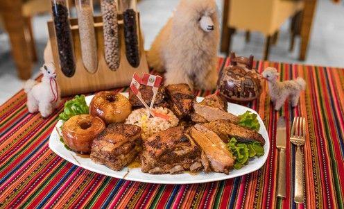Peru je špecifické. Na jednej strane v ich gastronómii nájdete tradíciu pochádzajúcu od pôvodných Indiánov, na strane druhej sú v nej prvky americkej, španielskej a ázijskej kuchyne. Vzniká tak jedinečná a nezameniteľná zmes chutí. Teraz môžete ochutnať ich vianočné menu - pečeného moriaka a bravčové rebierka na peruánsky spôsob, podávané s ryžou s hrozienkami a pečenými jablkami. / Bratislava - Ružinov