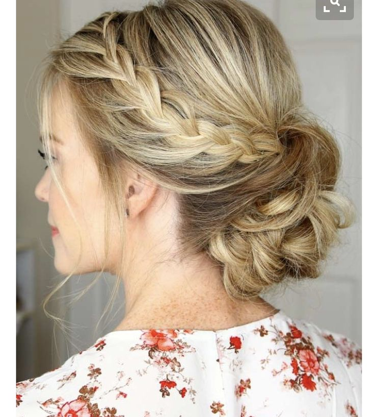 Formal Hairstyles For Medium Hair 27 Best 2017 Trendy Updos Images On Pinterest  Wedding Hairs