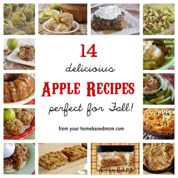 Mmm... 14 delicious Apple Recipes