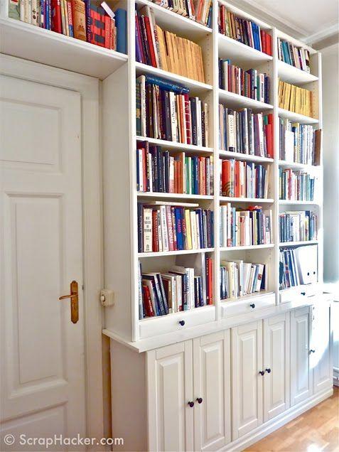 Billy Bookcase Ikea Hacks - iVillage