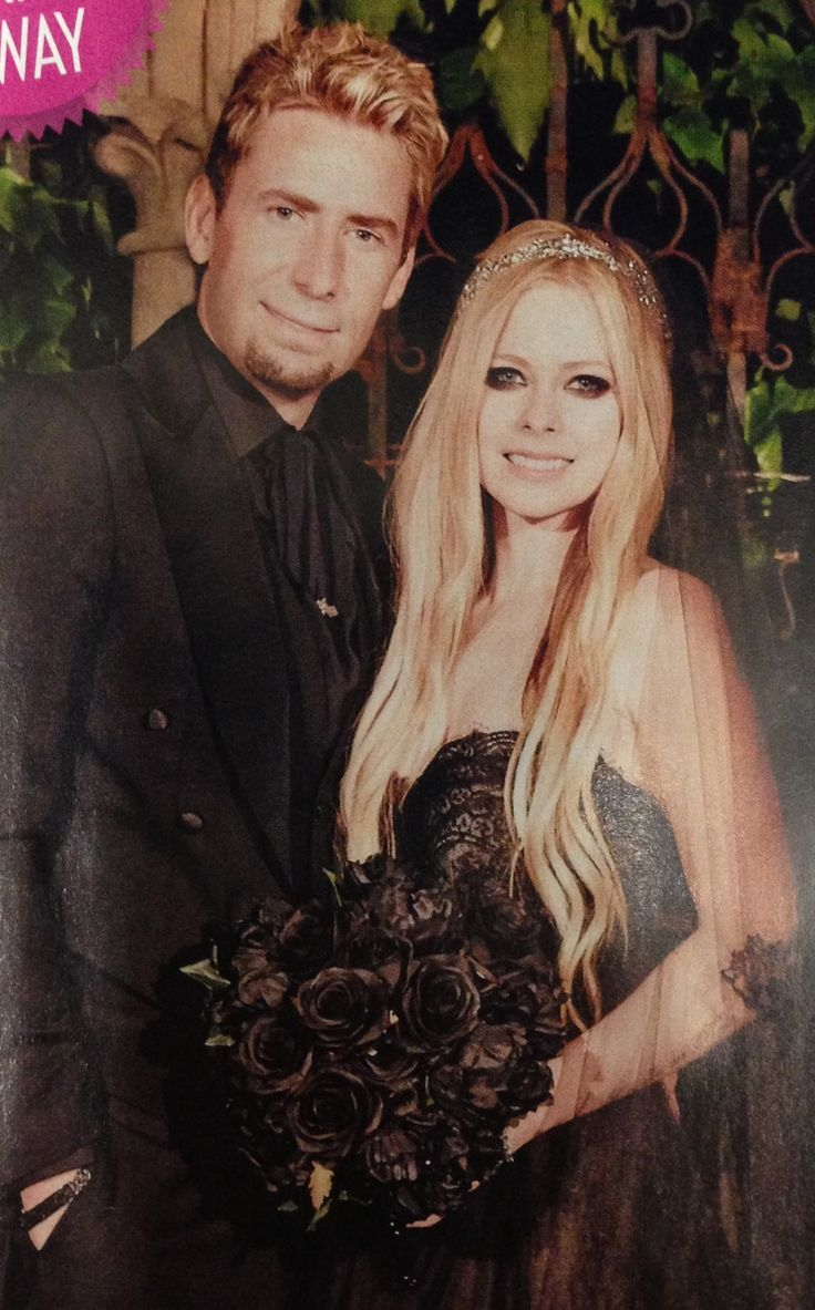 Avril Lavigne Wedding They Look So Cute Together