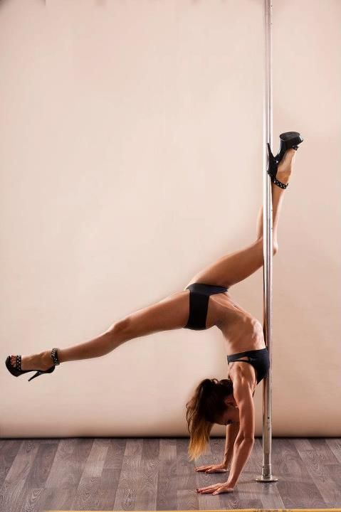 I can do this but I can drop the toe of my extended leg to the floor. Milan Pole Dance Studio