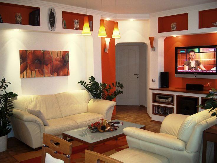 Narancsvidék - Living room in orange colour