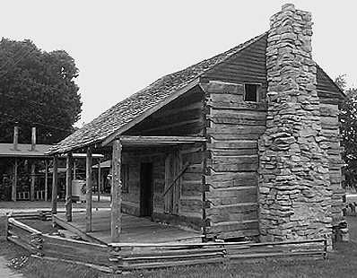This cabin, built in the 1810 time frame by John Bell's family, is believed to be the only surviving structure from the original Bell plantation. Located in sleepy Adams, TN, this sinister case involved spectral creatures, disembodied voices, poltergeist activity and even resulted in the death of John Bell... all at the hands of the infamous Bell Witch.