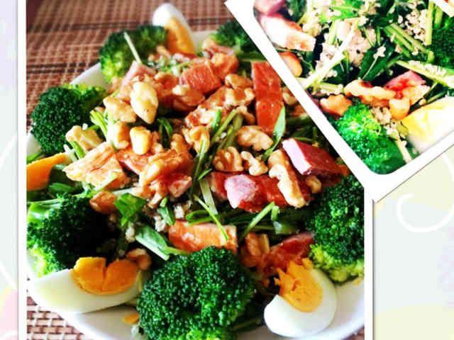 オメガ3★ケトジェニックな水菜サラダの画像
