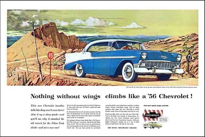 56 Chevy Ad