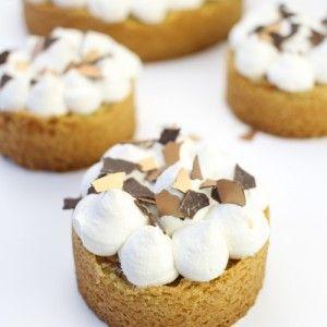 Appel caramel gebakjes