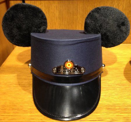 "Disney Parks ""Red Car Trolley"" Conductor Hat w/ Mickey ..."