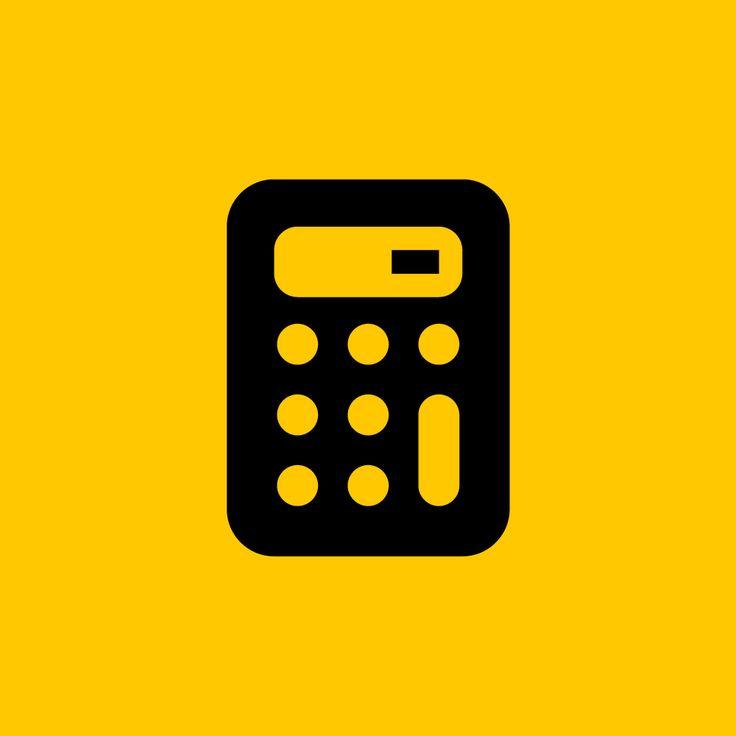 Calculator icon by ikonome icon design icon set icon