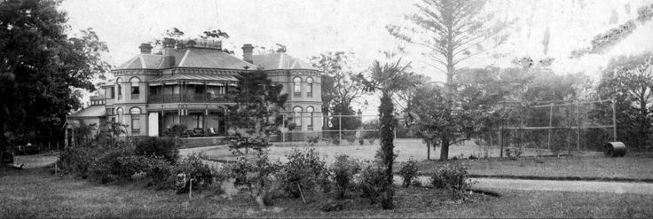 The former Leigh College at 416-420 Liverpool Rd,Strathfield South,in western Sydney The site is very prominent,with street frontages on Liverpool Rd, Hill St and Hillcrest St at Enfield (or Strathfield South).This site includes three significant historic properties:Brundah,a Victorian style house,'Leigh College Hall', a neo-Georgian Revival style building and the E. Vickery Memorial Chapel.The photo shows Brundah.