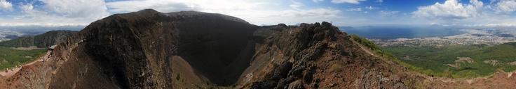 360° pic.  Amazing vesuvio vulcano