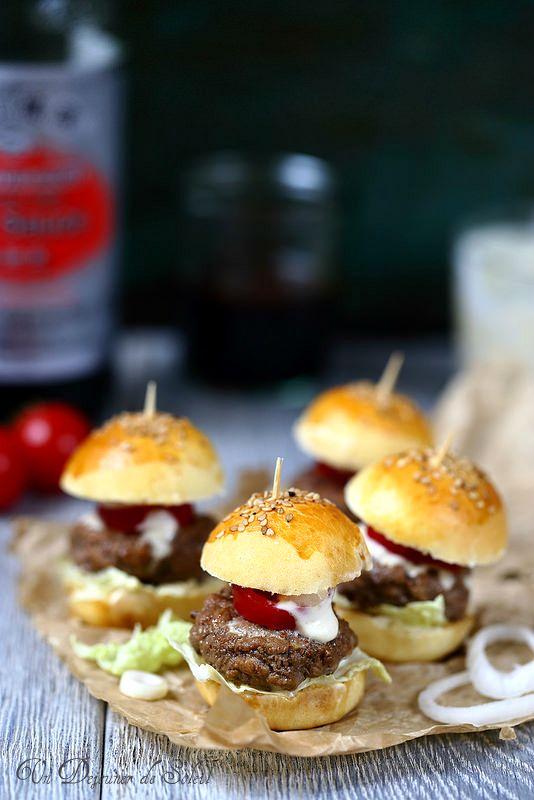 Mini hamburgers à l'asiatique