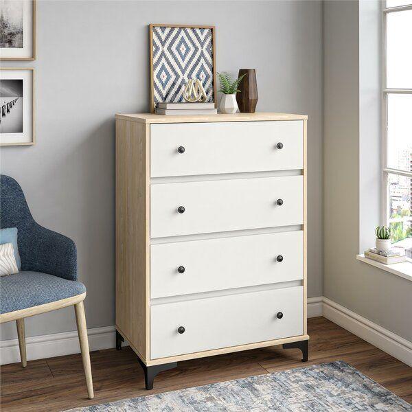 Karan 4 Drawer Chest 4 Drawer Dresser Dresser Drawers Furniture 4 drawer chest of drawers