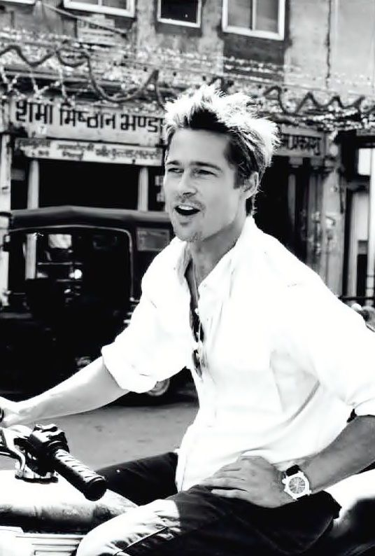 Brad Pitt is my inspiration for Dimitri Bardsley in my series Bad Faeries, book 1.