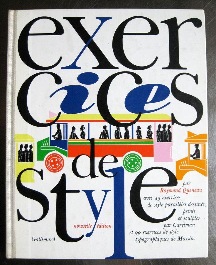 Raymond Queneau – Exercises in Style