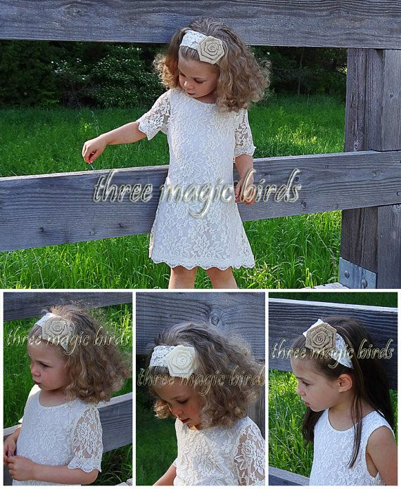 Hey, I found this really awesome Etsy listing at https://www.etsy.com/listing/240021946/flower-girl-ivory-dress-with-matching