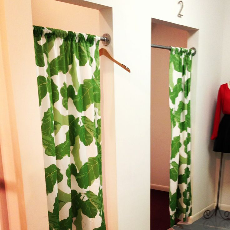 Marvelous Banana+leaf+curtains | Luxe Decor: Fiddle Figs