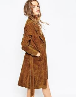 Trench in Suede - Shop - The You Way