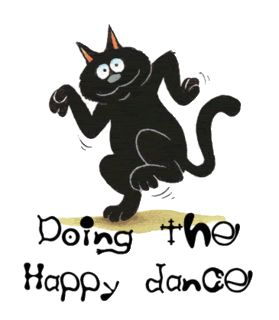Do your Happy Dance every day!  #doingthehappydance#lookinggood#