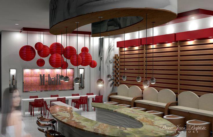 52 best images about spa decor on pinterest pedicures spa reception area and beauty salons - Bar salon design ...