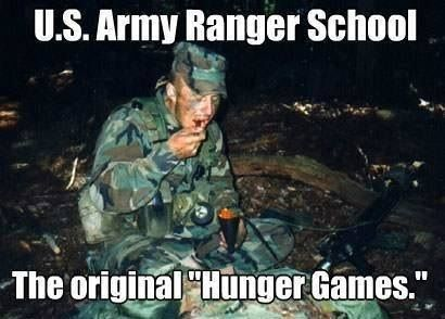 US Army Rangers Hunger Games...lol #MilitaryHumor