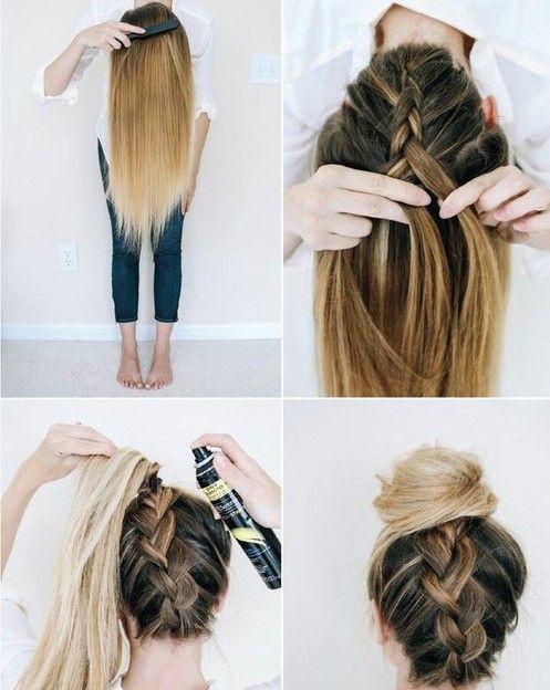 Vous souhaitez une coiffure simple et rapide à réaliser chaque matin? Voici cinq idées pour ne pas trop vous embêter au réveil et avoir une coiffure sympa