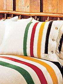 Woolrich® Hudson's Bay 4-Point Blanket & Sham