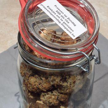 koekjes met gedroogde abrikozen