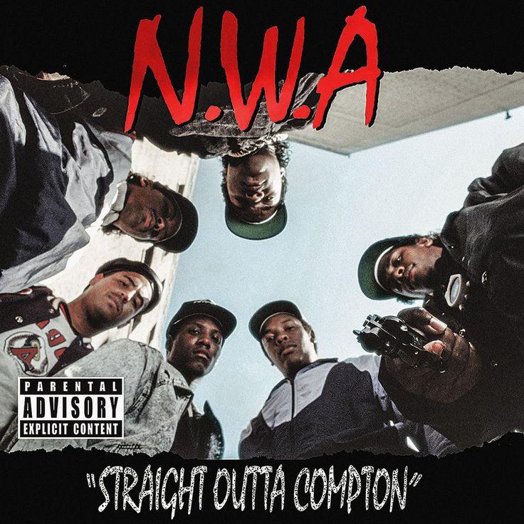 Straight Outta Compton Album Poster 24x24 N.W.A Ice Cube Dr Dre Eazy E NWA Rap