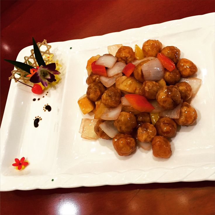 Another exquisite dish from our Chinese restaurant Yue Yuan - created by Chef Liang
