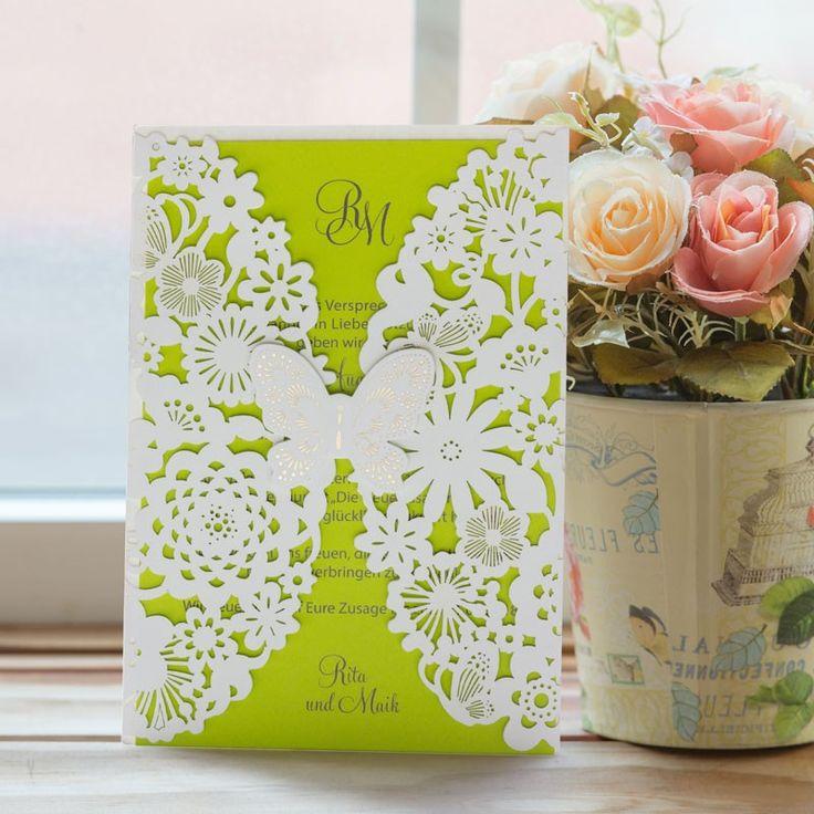 Www meine  93 besten Hochzeitseinladungen | Trends Bilder auf Pinterest ...