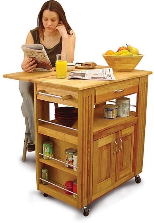 Kitchen Cart Island Drawer Shelf Storage Drop Leaf Portable Sturdy Heavy Duty  #CatskillCraftsman #Kitchen #Cart #Drawer #Shelf