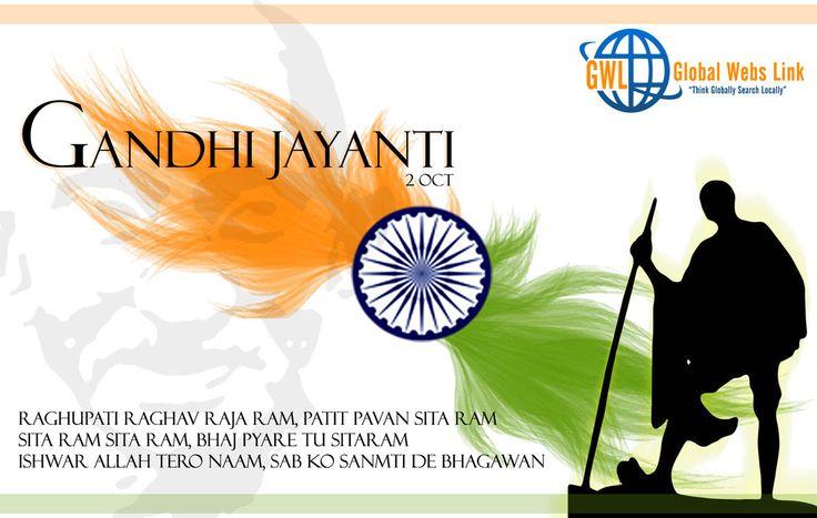 #Gandhi Jayanti is observed as a national holiday in India.A solemn celebration marking the birth date of Gandhiji http://globalwebslink.com/