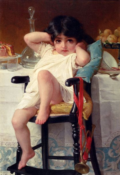 Emile Munier (1840 – 1895, French):