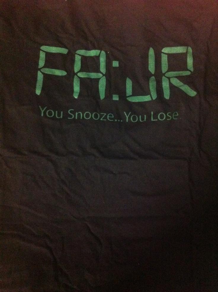 Fajr ... T shirt :)