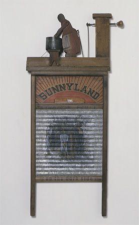 Bettye Saar. 'Sunnyland (On the dark Side)', 1998 courtesy of the Brooklyn Museum. from ART OF BRICOLAGE