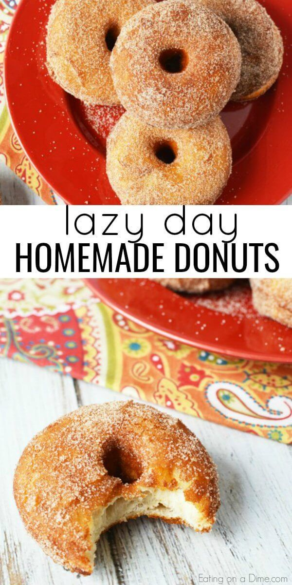Lazy Day hausgemachte Donuts   – Muffins + Bagels & Donuts / Doughnuts + Cupcake…