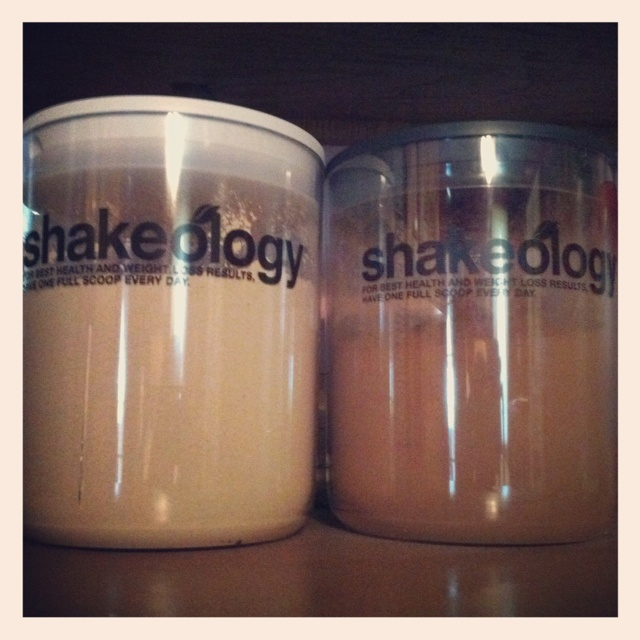 Shakeology canisters!