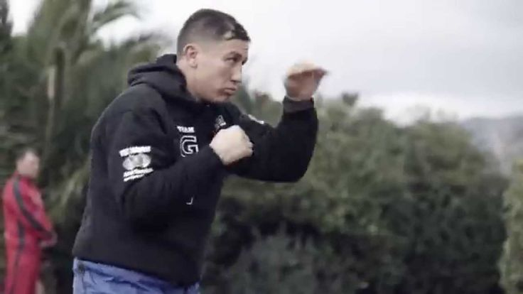 Gennady GGG Golovkin vs. Martin Murray, arrival and 1st training