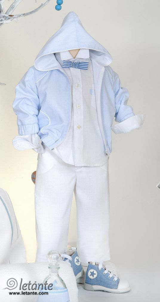 Christening gown - special occasion baby suite Βαπτιστικα ρουχα Letante