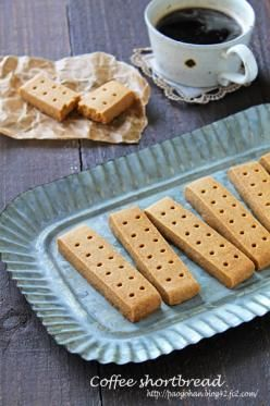 「サクサクコーヒーショートブレッド☆」ぱお | お菓子・パンのレシピや作り方【cotta*コッタ】