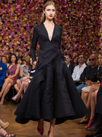christian dior s fall winter 2013 haute couture raf simons debuts first collection for fashion