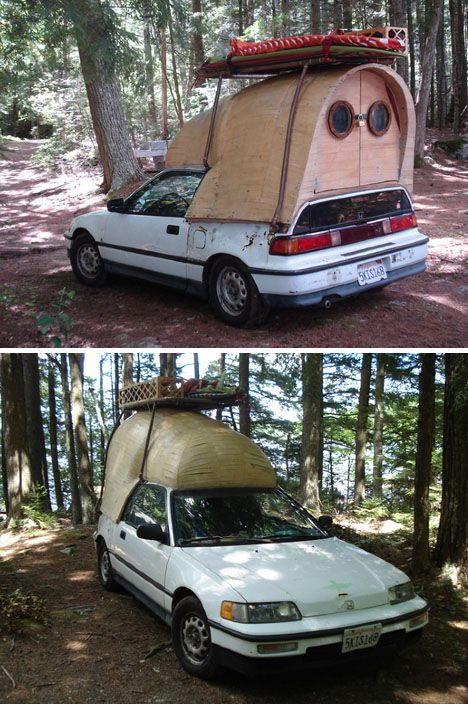 One man with many ideas, Jay Nelson seems to have a custom camper or mini-home in store for every occasion, including tree houses, a sleeper boat, unconventional caravan and scooter camper. It would be too easy to classify his work, which is not 'neo-hippy' nor 'steampunk' but a blend of childho ...