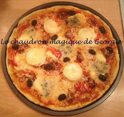 voici la recette ultra simple que jutilise pour raliser mes pizzas maisons prte