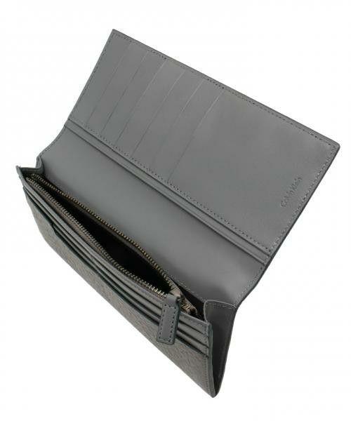 Calvin Klein men(カルバン・クライン メン)のエレファント型押し ウォレット(財布) 詳細画像