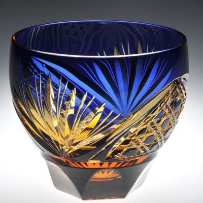 Japanese cut-glass -edo kiriko-