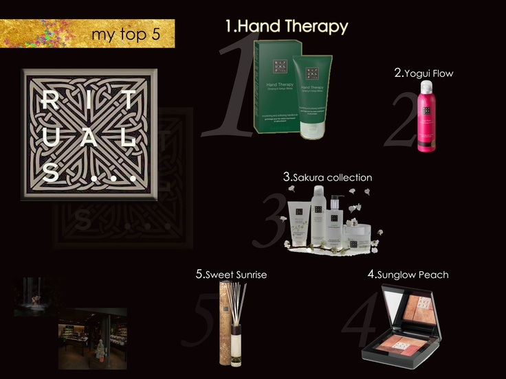 "My ""Top 5"" of Rituals Cosmetics."