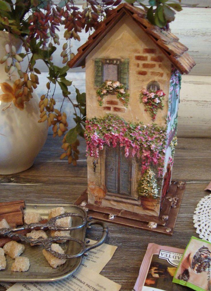 """Купить Чайный домик """"Чарующий Прованс"""" - комбинированный, для чая, домик, чайный…"""